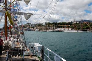 Tall Ships in Funchal Harbour