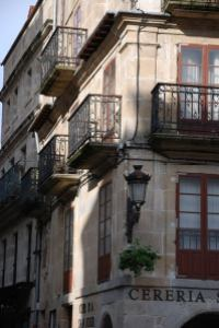 A corner in the old part of Vigo