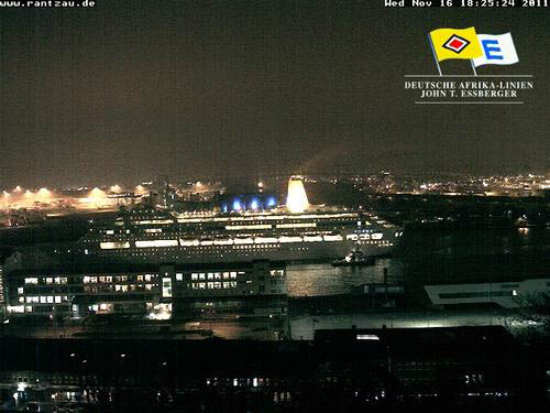 Oriana at Hamburg