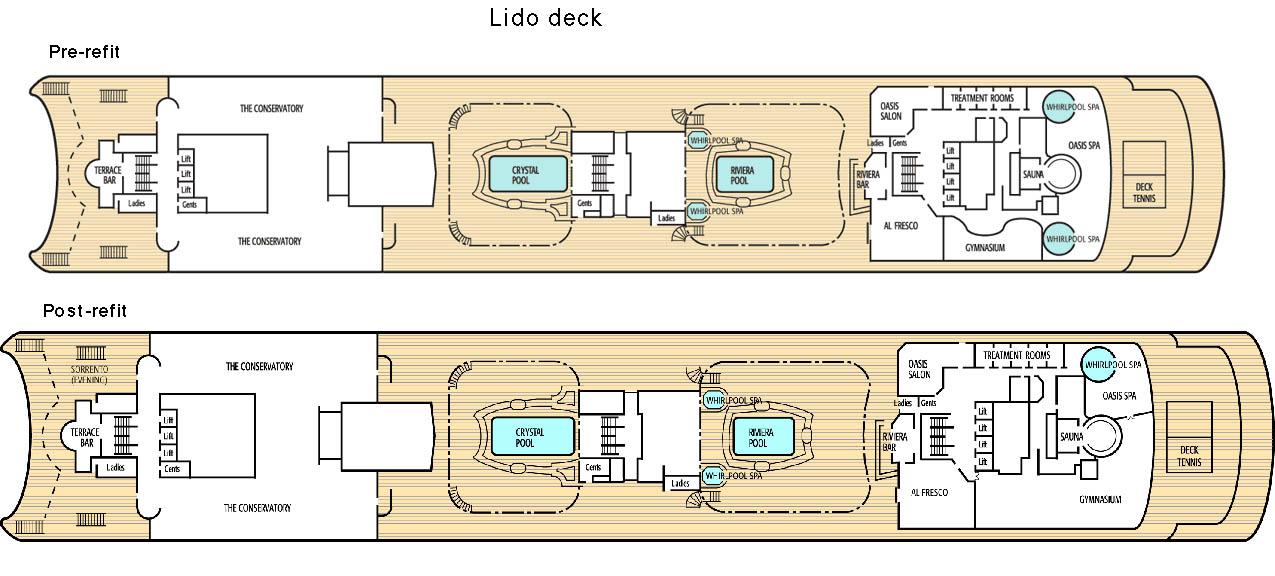 cabin plan oriana