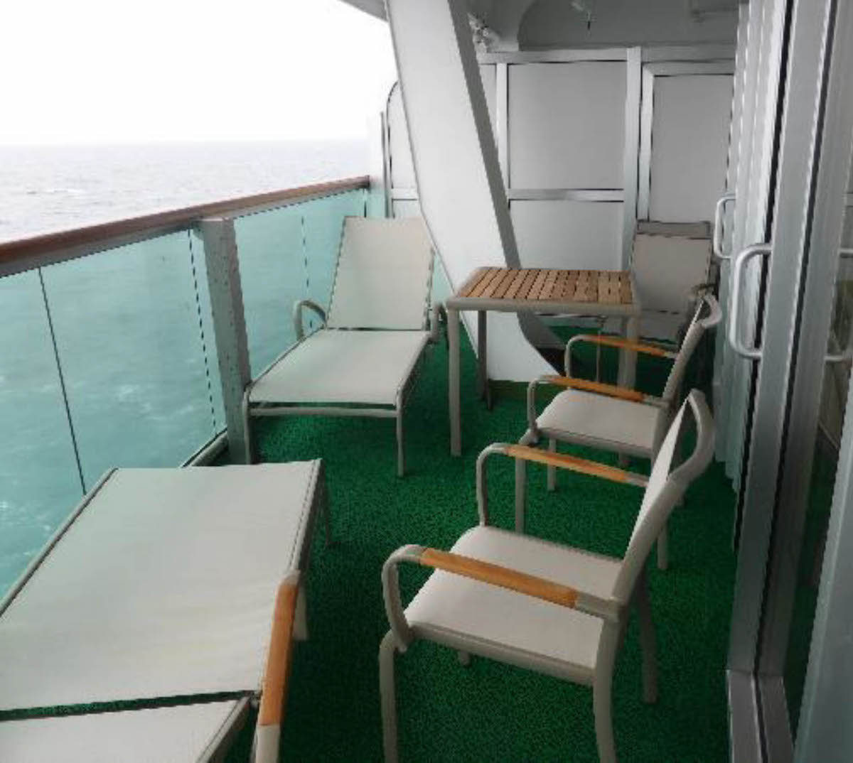 Ventura and azura balcony resource tom 39 s cruise blog for Balcony in cruise ship