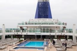 Lido deck looking aft