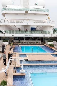 Lido deck looking forward