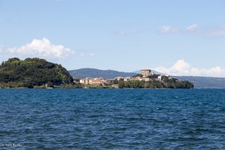 View across Lake Bolsena