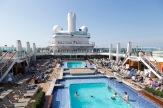 Lido deck pools
