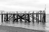 Old pier at Calshot
